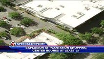 Floride - Explosion accidentelle dans un centre commerciale dans la ville de Plantation, près de Miami