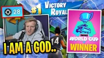 Tfue Shows Us *GOD MODE* World Cup Skills in Champion League!
