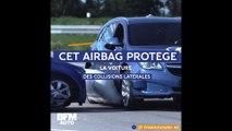 Cet airbag protège la voiture des collisions latérales