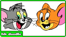 How To Draw Tom - Jerry and Many More Cartoon Drawings For Children
