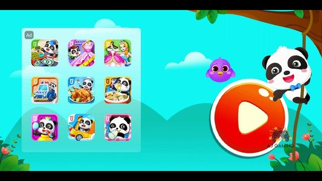 Little Panda's Pet Salon | Kids Learning Games | Makeup Gameplay | AJ GAMING