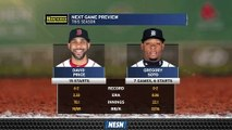 David Price Gets Ball For Red Sox's Series Finale Vs. Tigers