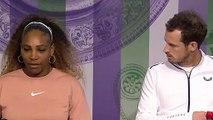 Wimbledon 2019 - Andy Murray and Serena Williams look alike !