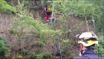 Forbach : les pompiers interviennent pour un adolescent coincé sur une falaise