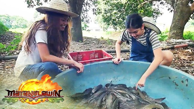 Heaven Peralejo shares about her farming and fishing experience | Matanglawin