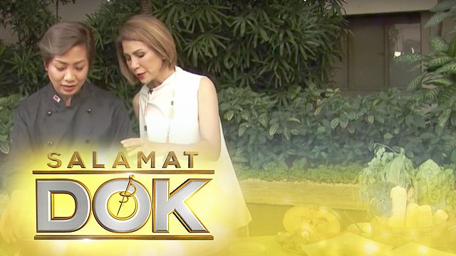 Chef Fia Batua shows how to make various healthy soups | Salamat Dok
