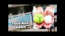 Un déluge de grêlons gros comme des balles de tennis dans la Loire