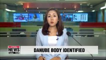 Body found in Danube River on Friday identified as S. Korean woman who was on boat that sank in May