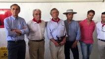 Entrega del premio Carriquiri 2018 a  la ganadería Puerto de San Lorenzo