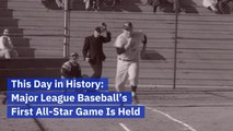 The First All-Star Baseball Game