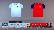 Match Review: Sporting KC vs Chicago Fire on 07/07/2019