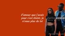 Zayra - Sors de ma vie Ft. Vegedream (Paroles)