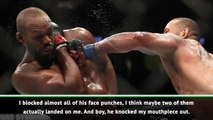Jones humbled by five-round war with Santos