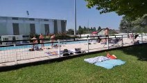 À Bourgoin-Jallieu, la piscine d'été Pierre-Rajon fait le plein