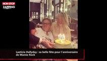 Laeticia Hallyday : sa belle fête pour l'anniversaire de Mamie Rock (vidéo)