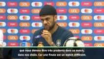 """FOOTBALL: Copa America - Alves : """"Nous devons être très prudents"""""""