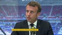 """Primes pour les footballeuses françaises à la hauteur de leurs homologues masculins : """"Il faut aller progressivement vers cela"""" déclare Emmanuel Macron"""