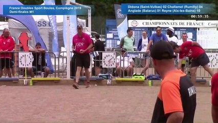 Demi-finales M1, France Doubles, Compiègne 2019