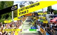 Last kilometer / Flamme rouge - Étape 2 / Stage 2 - Tour de France 2019