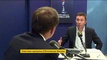 Foot - Emmanuel Macron se dit favorable à l'arrêt des matchs en cas d'insultes homophobes ou racistes dans les tribunes