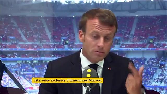 Emmanuel Macron regrette que Total renonce à sponsoriser les JO de Paris faute d'accord avec la maire de la capitale, Anne Hidalgo