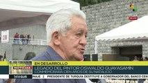 Ecuador: Conmemoran 100 años del natalicio de Oswaldo Guayasamín