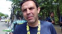 """Tour de France 2019 - Stéphane Goubert et AG2R La Mondiale de Romain Bardet auront perdu 58"""" sur la Team INEOS de Geraint Thomas et d'Egan Bernal"""