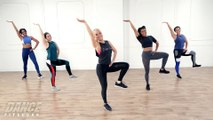 Cardio Dance Mixed With HIIT Drills to Burn Up to 300 Calories in 30 Minutes!