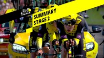 Summary - Stage 2 - Tour de France 2019