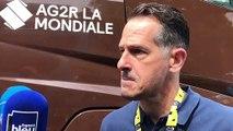 """Julien Jurdie, le directeur sportif d'AG2R la Mondiale """"notre médecin en est à son vingtième tour"""""""