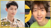 "Song Joong Ki reached the top of most searched keywords for ""hair loss""   netizens worried"