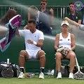 L'arrosage automatique se met en marche en plein match à Wimbledon
