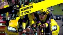 Resumen - Etapa 2 - Tour de France 2019