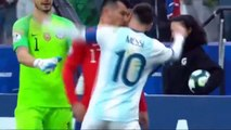 Lionel Messi & Gary Medel Red Card Piros Lap Argentina vs Chile 2 - 1 Copa America 2019