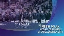 Messi Tolak Medali Perunggu di Copa Amerika 2019