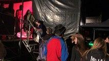 Les bénévoles montent sur scène avec Biga*Ranx