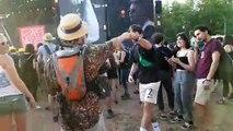 Eurockéennes : Le public des Stray cats a des fourmis dans les jambes