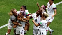 U.S. wins 2019 Women's World Cup with 2-0 victory over Netherlands