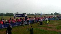 Race for Life runners in race to beat cancer.