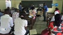 RTG/Point de presse des responsables de la coordination archidiocèse  à Libreville