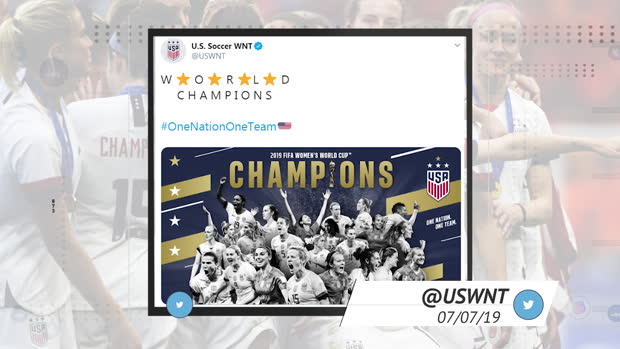 Socialeyesed – USA win the World Cup