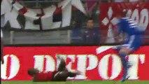 11/08/12 : SRFC-OL : carton rouge Kembo (28')