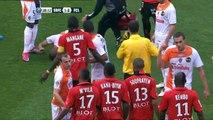 16/04/11 : SRFC-FCL : carton rouge Souprayen (39')