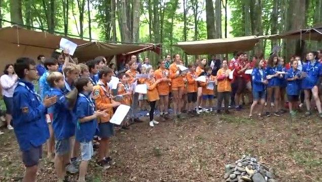 Messe scoute 2019-Dernier chant