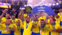Copa América : Les Brésiliens soulèvent le trophée !