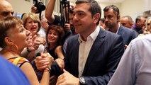 La déception des partisans de Syriza après la défaite d'Alexis Tsipras