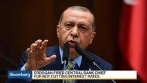 Turkey's Erdogan Ousts Central Bank Chief