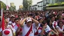 Reaction from Peru fans in Lima after Copa America final