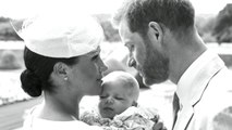 Royal family shares photos of baby Archie's christening