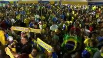 Reaction from Brazilian fans in Rio de Janeiro after Copa America final